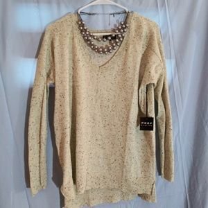 Poof long sleeve sweater